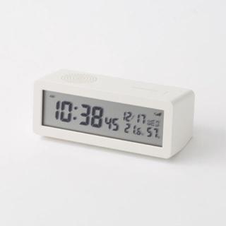 ムジルシリョウヒン(MUJI (無印良品))の新品  無印良品  デジタル電波時計(置時計)