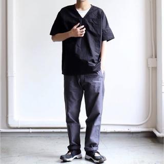 バージスブルック(BASISBROEK)のBASISBROEK  TEQ-Cotton Silk vネック シャツ(Tシャツ/カットソー(半袖/袖なし))