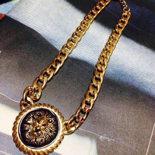 goocy , ライオン ごつめネックレスの通販 by お値下げ可能です!|グースィーならフリル