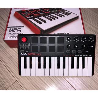 専用AKAI MPK mini MK2 USB MIDIキーボードコントローラ(MIDIコントローラー)