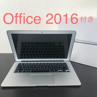 マック(Mac (Apple))の《美品》MacBook Air 2017 / Office 2016 付き(ノートPC)