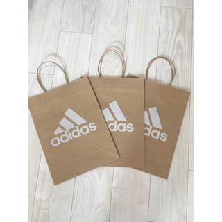 アディダス(adidas)の新品 アディダス ショップ袋 中サイズ(ショップ袋)
