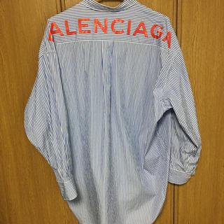 バレンシアガ(Balenciaga)の正規品 バレンシアガ  スウィングシャツ 36(シャツ)