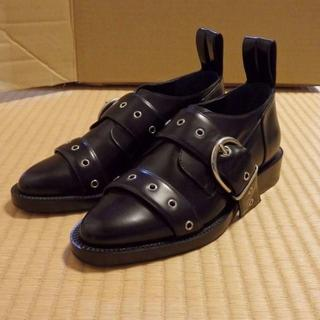 パコラバンヌ(paco rabanne)のPaco Rabanne  バックルシューズ(ローファー/革靴)