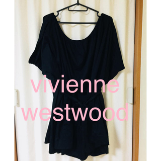ヴィヴィアンウエストウッド(Vivienne Westwood)のヴィヴィアン ウエストウッド ゆったりトップス (カットソー(半袖/袖なし))