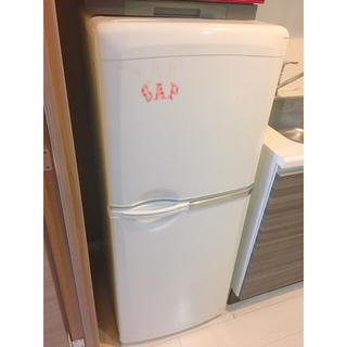 ミツビシデンキ(三菱電機)の三菱 MITSUBISHI 冷蔵庫 MR-14J-W(冷蔵庫)