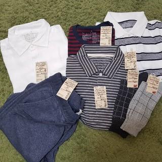 ムジルシリョウヒン(MUJI (無印良品))の無印 夏 セット メンズ M(Tシャツ/カットソー(半袖/袖なし))
