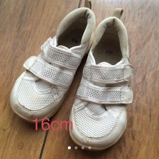 ムジルシリョウヒン(MUJI (無印良品))の無印良品 子供靴 16cm(スニーカー)