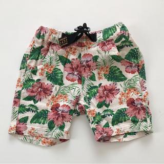 シマムラ(しまむら)の花柄 キッズハーフパンツ(パンツ)
