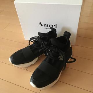 アメリヴィンテージ(Ameri VINTAGE)のameri COMBINED SNEAKERS スニーカー L(スニーカー)