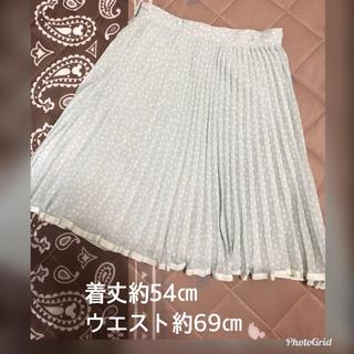 デビュードフィオレ(Debut de Fiore)のデビュードフィオレ♡ドットスカート(ひざ丈スカート)