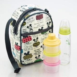 Disney - 哺乳瓶 粉ミルクケース ミッキー 保温 赤ちゃん バッグ