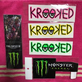 クルキッド(KROOKED)のモンスター クルキッド ステッカーセット(ステッカー)