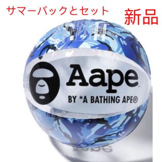 アベイシングエイプ(A BATHING APE)のビーチボール、サマーバック セット(マリン/スイミング)