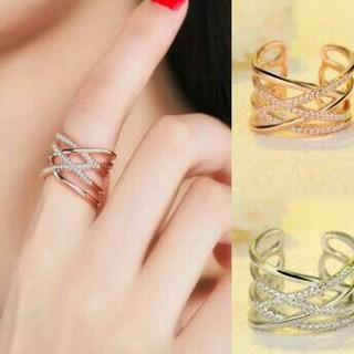 コーティング 編み デザイン 大人気デザインに 指輪 リング(リング(指輪))