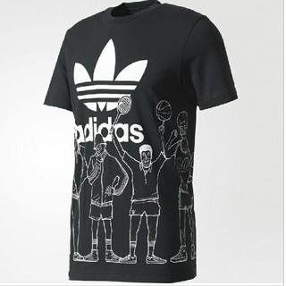 アディダス(adidas)のアディダス オリジナルス トレフォイル グラフィック Tシャツ 新品 未開封(Tシャツ/カットソー(半袖/袖なし))