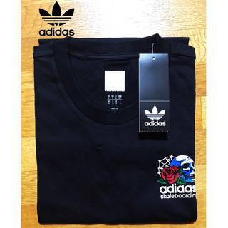 アディダス(adidas)の翌日発送【新作】Adidas originals スカル&ローズ Tシャツ新品(Tシャツ/カットソー(半袖/袖なし))