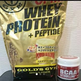 ケンタイ(Kentai)の2点セット GOLD'S GYM ゴールドジム プロテイン BCAA(トレーニング用品)
