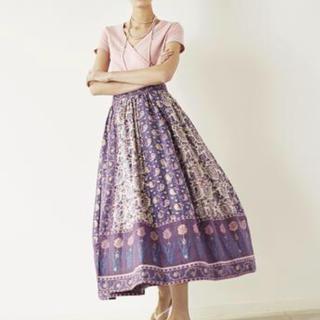 ロンハーマン(Ron Herman)のロンハーマン 18SS新品スカート print skirt(ロングスカート)