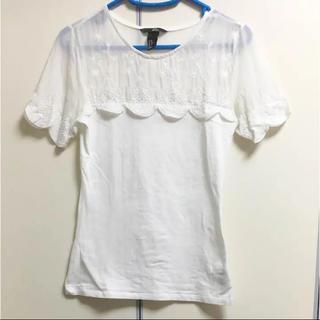 エイチアンドエム(H&M)のレディース Tシャツ(Tシャツ(半袖/袖なし))