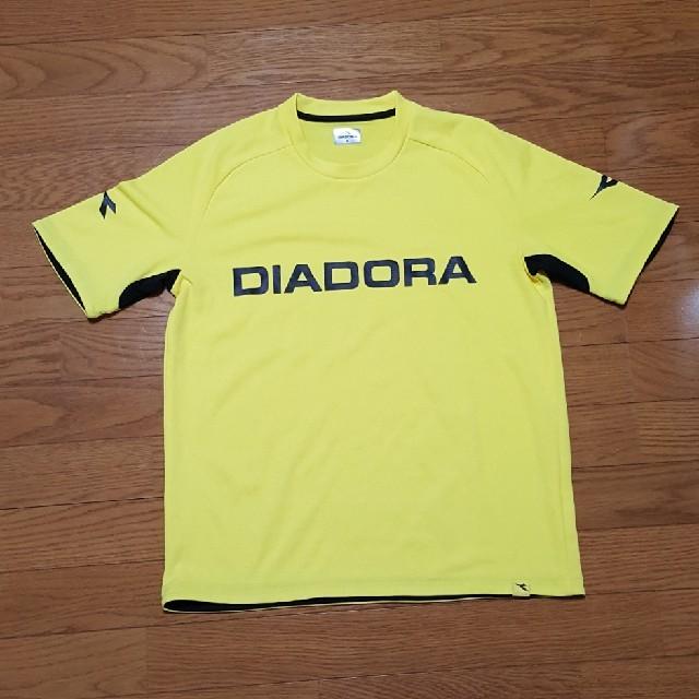 DIADORA(ディアドラ)のDIADORA スポーツシャツ イエロー M スポーツ/アウトドアのテニス(ウェア)の商品写真