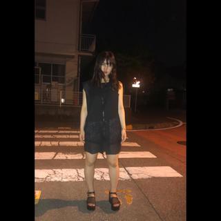 ファスナーワンピ(ひざ丈ワンピース)