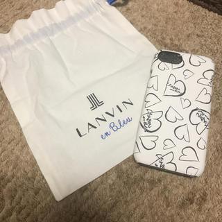 ランバンオンブルー(LANVIN en Bleu)のランバン❤️アイフォンケース(iPhoneケース)