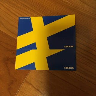 イケア(IKEA)のIKEAステッカー 2枚セット(その他)