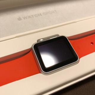 アップルウォッチ(Apple Watch)のApple Watch Sport 初代 38mm オレンジ A1553(スマートフォン本体)