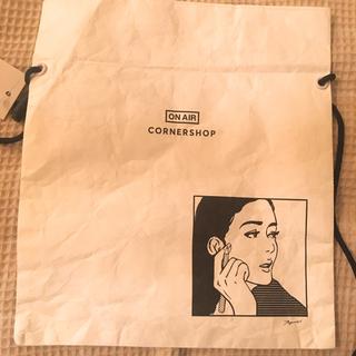 ソフネット(SOPHNET.)の【新品未使用タグ付き】KYNE ON AIRサコッシュバッグ (エコバッグ)