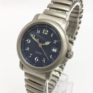 エスプリ(Esprit)のESPRIT エスプリ クォーツ シルバー(腕時計)