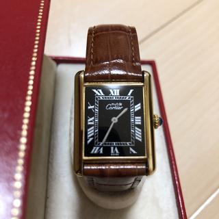 カルティエ(Cartier)のカルティエ マストタンク 手巻(腕時計(アナログ))