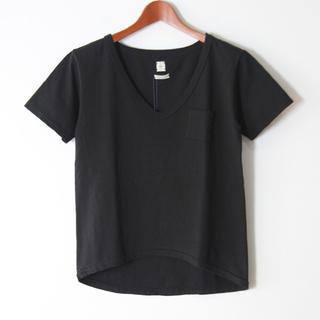 シー(SEA)の【未使用】SEA VINTAGE丸胴ルーズVネックポケットTシャツ(Tシャツ(半袖/袖なし))