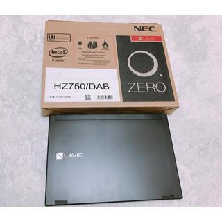 エヌイーシー(NEC)の値段交渉OK  NEC LAVIE  PC- HZ750DAB (ノートPC)