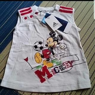 アディダス(adidas)のadidasアディダス 85cm ディズニーコラボ ノースリーブTシャツ 新品(Tシャツ)