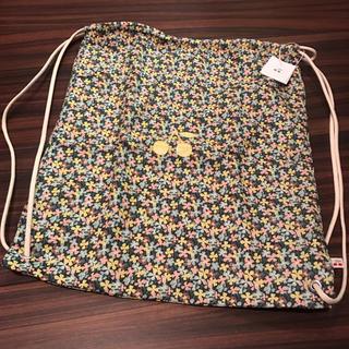 ボンポワン(Bonpoint)のボンポワン 17SS 巾着型バックパック リバティ エルマー 新品(リュックサック)