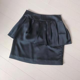 マーキュリーデュオ(MERCURYDUO)の段フリルコクーンスカート(ミニスカート)