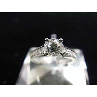 カルティエ(Cartier)のPt950 カルティエ Cartier ソリテールリング 婚約指輪(リング(指輪))