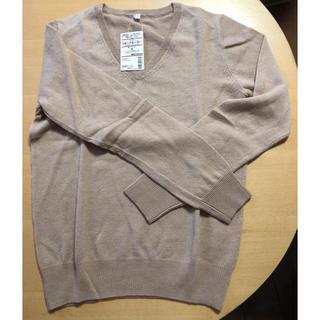 ムジルシリョウヒン(MUJI (無印良品))の無印良品 カシミヤ Vネックセーター 婦人M(ニット/セーター)