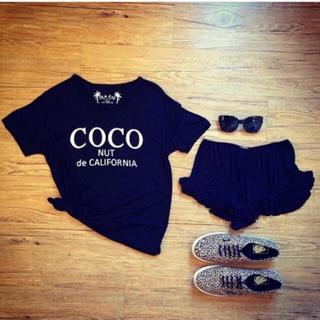 シェル(Cher)のCoco nut tシャツ(Tシャツ(半袖/袖なし))
