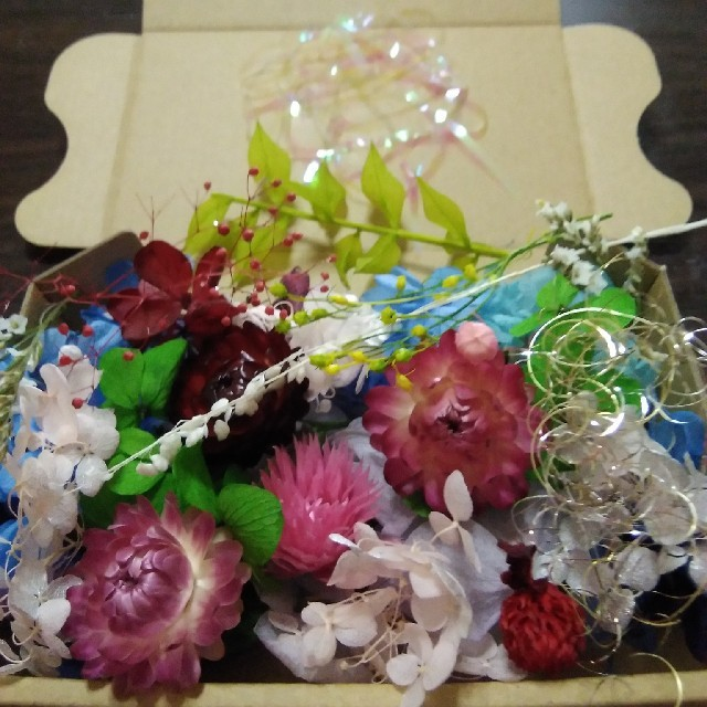 おすそわけ花材mix ハンドメイドのフラワー/ガーデン(ドライフラワー)の商品写真