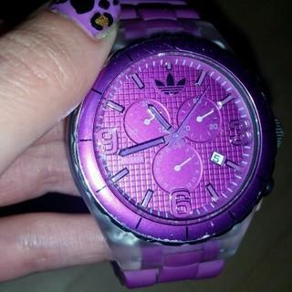 アディダス(adidas)のadidas☆腕時計☆美品です(腕時計)