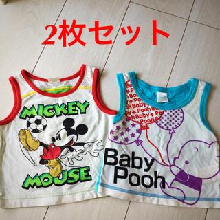 ディズニー(Disney)のミッキー プーさん タンクトップ(タンクトップ/キャミソール)