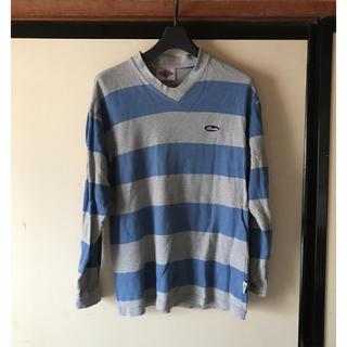 ベアー(Bear USA)の♪メンズ用Vネック長袖トレーナー(Tシャツ/カットソー(七分/長袖))