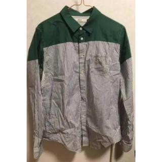 エフィレボル(.efiLevol)の【超特価!】美品!efilevolのバイカラーシャツ(シャツ)