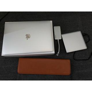 マック(Mac (Apple))のMacBook Pro 2017 512GB 16GB ケース+DVDドライブ(ノートPC)