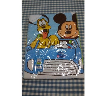 ディズニー(Disney)の【未使用・美品】ミッキー タオルケット  ディズニー ジュニアケット プルート(タオルケット)