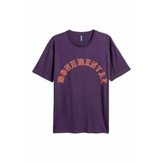 エイチアンドエム(H&M)の☆H&M/エイチアンドエム 半袖 Tシャツ/メンズ/XS/パープル☆新品(Tシャツ/カットソー(半袖/袖なし))