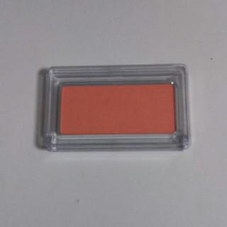 ムジルシリョウヒン(MUJI (無印良品))のチークカラー・マットタイプRK オレンジ 無印良品(チーク)