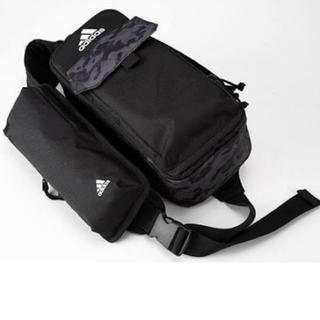 アディダス(adidas)のももクロ ポシュレ ボディバッグ ブラック(アイドルグッズ)